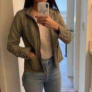 Caslon khaki jacket